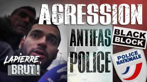 Agression Antifas / Police