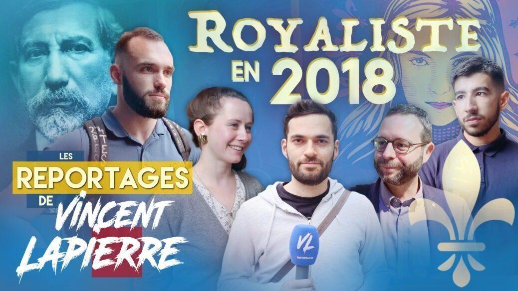 Royaliste en 2018 VC