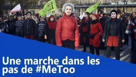 Une marche dans les pas de #MeToo