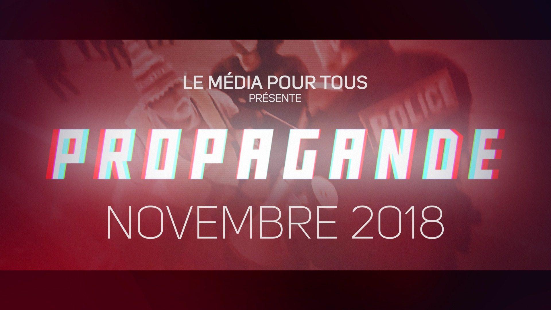 Propagande Novembre 2018