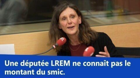 Une députée LREM ne connaît pas le montant du smic ? «On devrait vous faire passer un CAP», lui lance un «gilet jaune»