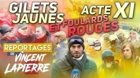 GILETS JAUNES ET FOULARDS ROUGES, ACTE XI – Les Reportages de Vincent Lapierre