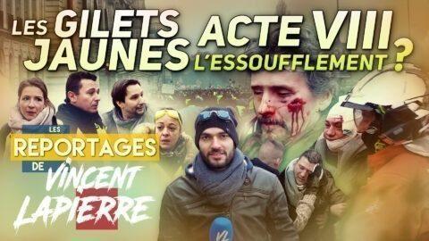 LES GILETS JAUNES L'ESSOUFFLEMENT ? ACTE VIII – Les Reportages de Vincent Lapierre