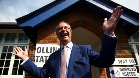 Le parti du Brexit en tête des élections européennes au Royaume-Uni