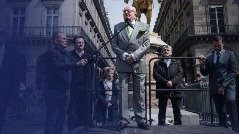 """Jean-Marie Le Pen affirme que l'incendie de Notre-Dame serait """"criminel"""""""