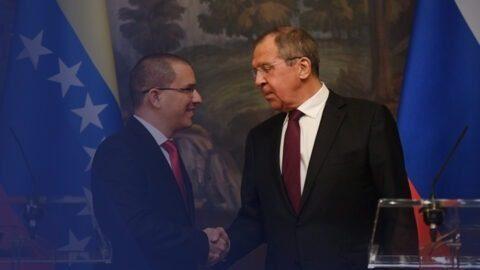 Lavrov a réitéré le soutien de la Russie à Nicolas Maduro