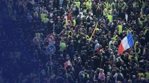 «Attaque» de la Pitié-Salpêtrière par des manifestants ?