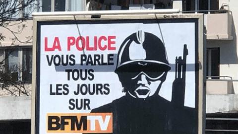 Voici l'affiche pour laquelle un Varois a été condamné à payer 32.000 euros à BFM TV (image)