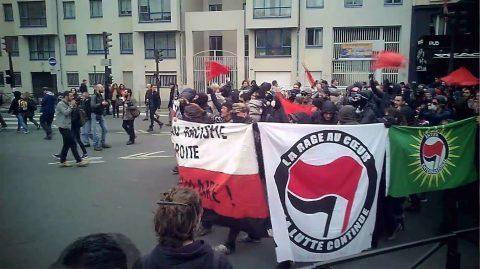 Une manifestation antifasciste à Paris en hommage à Clément Méric