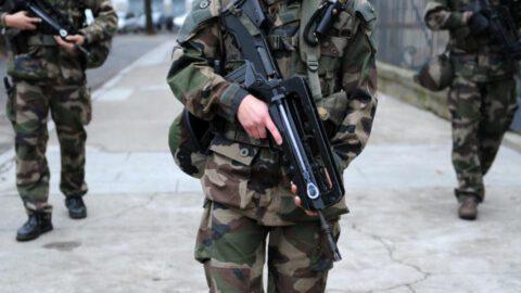 Un homme interpellé après avoir menacé des militaires de Sentinelle avec un couteau