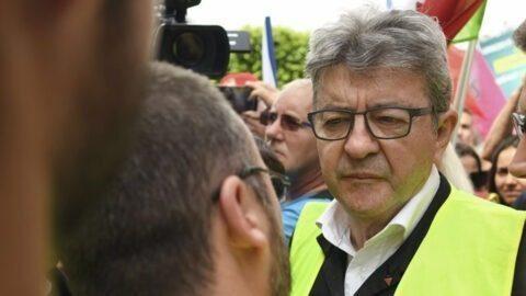 General Electric : à Belfort, Jean-Luc Mélenchon enfile un gilet jaune