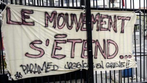 Les patients soutiennent les employés des hôpitaux en grève