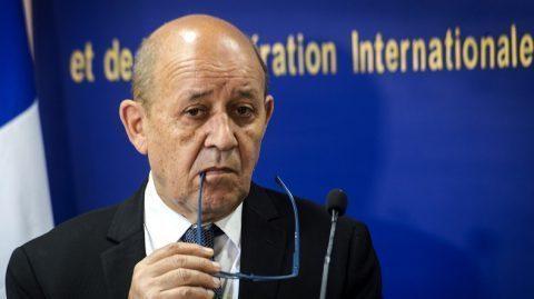 Jean-Yves Le Drian ironise sur le plan américain censé résoudre le conflit israélo-palestinien