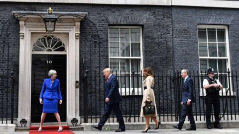 Trump promet à May un « phénoménal accord commercial » post-Brexit