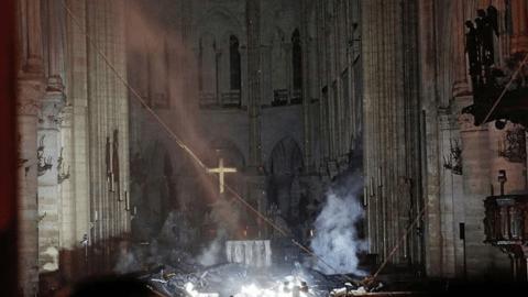 Le parvis de la cathédrale de Notre-Dame pourrait rouvrir la semaine prochaine