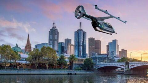Taxis volants d'Uber : Melbourne, première ville internationale à les accueillir