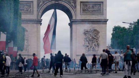 Plus de 150 personnes interpellées en marge du défilé du 14-Juillet à Paris
