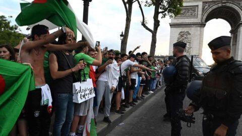 Le RN demande d'interdire les Champs-Elysées aux supporters algériens