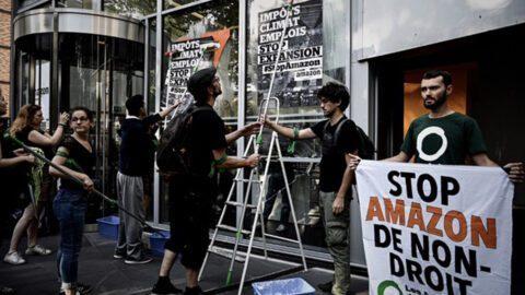 Amazon : Plusieurs sites bloqués par des manifestants écolos et des «gilets jaunes»