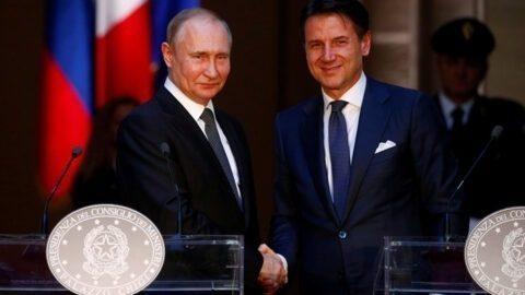 Sanctions contre la Russie : la «situation ne profite ni à l'UE ni à l'Italie» pour Giuseppe Conte