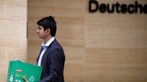Suppression de postes chez Deutsche Bank : les banquiers déjà sommés de quitter les lieux