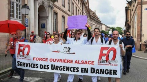 Urgences : manifestation nationale à Paris