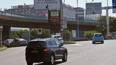 Grand Paris : L'interdiction des véhicules les plus polluants débute aujourd'hui