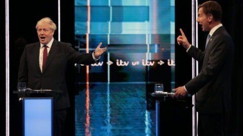 Royaume-Uni : Trump, Brexit… Débat animé entre Boris Johnson et Jeremy Hunt