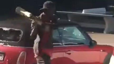 Allemagne : un migrant africain détruit les voitures… de pro-migrants [Vidéo]
