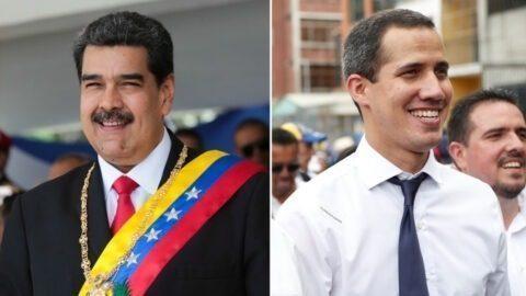 «Parvenir à un accord» ou «ne pas se rendre» : Maduro et Guaido s'adressent aux Vénézuéliens
