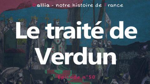 Le traité de Verdun : le partage de l'empire carolingien