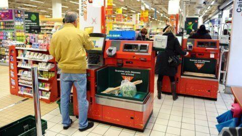 Ouverture dominicale chahutée pour un premier hypermarché sans caissières