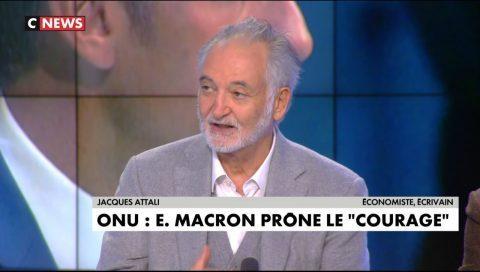 Jacques Attali veut un gouvernement mondial pour résoudre la crise environnementale (VIDEO)