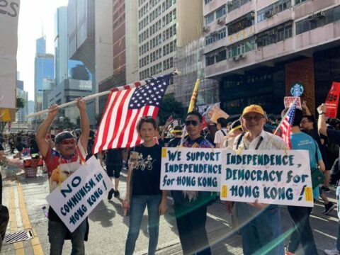Qui sont les « Chemises noires » de Hong Kong ?