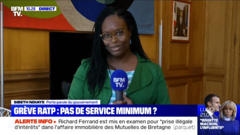 Sibeth Ndiaye sur les usagers de la RATP : la petite phrase qui ne passe pas