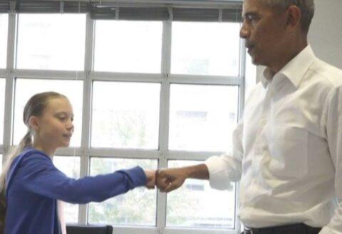 Politique spectacle épisode 826 : Greta la sauveuse du monde rencontre Obama