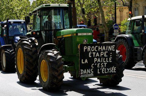 Les agriculteurs en colère : grosses mobilisations à travers toute la France
