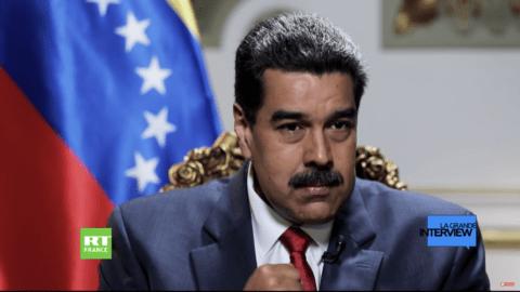 La Grande Interview : Nicolas Maduro explique pourquoi le Venezuela est en difficulté