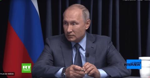 Passé sur le grill, Poutine ne lâche rien sur l'Iran et la Syrie (VIDÉO)