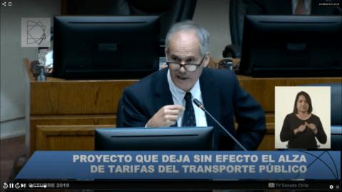 Un sénateur Chilien prend l'exemple du traitement des Gilets Jaunes par Macron pour justifier l'action de son gouvernement