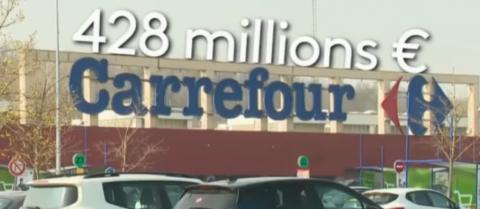 Carrefour perçoit 400 millions d'euros d'aides à l'emploi et licencie pourtant 1875 salariés