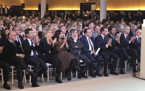 Le Centre Européen du Judaïsme inauguré par Macron a coûté 3 millions d'euros aux contribuables