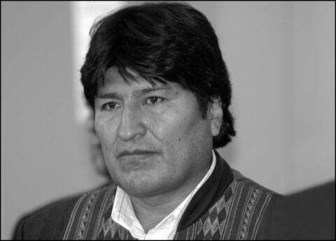 Dernier message d'Evo Morales avant de quitter la Bolivie