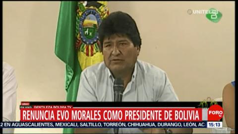 Coup d'État en Bolivie : le président Morales forcé de démissionner