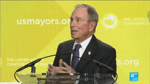 Michael Bloomberg, neuvième fortune mondiale, est candidat face à Trump