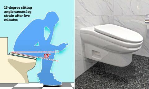 Productivité au travail: les toilettes inclinées pour vous empêcher de squatter!