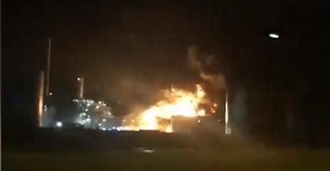 Normandie : après l'usine Lubrizol, la plus grande raffinerie de France en flammes