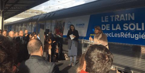 """Ne ratez pas le """"train de la solidarité"""", pour une meilleure acceptation des réfugiés"""