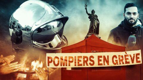 Les pompiers montent un campement en plein Paris en signe de protestation (REPORTAGE)