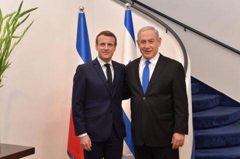 Macron en Israël : l'antisémitisme est son «combat de chaque jour»